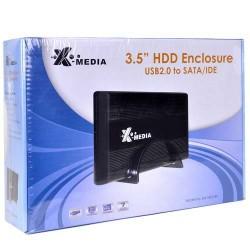 "CASE 3.5"" SATA X-MEDIA USB 2.0"